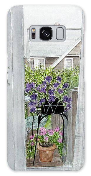 Nantucket Room View Galaxy Case