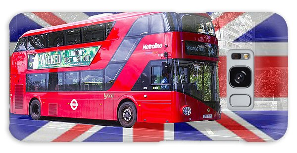 New London Red Bus Galaxy Case
