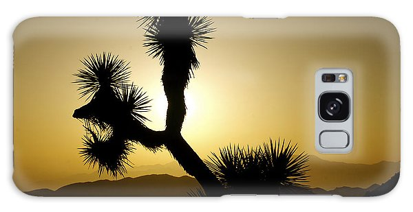 New Photographic Art Print For Sale Joshua Tree At Sunset Galaxy Case