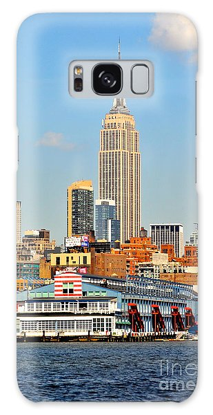 New York City Skyline With Empire State Galaxy Case