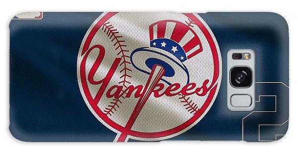 Derek Jeter Galaxy S8 Case - New York Yankees Derek Jeter by Joe Hamilton