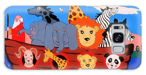 Noah's Ark Galaxy Case by Joyce Gebauer