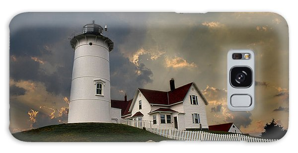Nobska Lighthouse Color  Galaxy Case