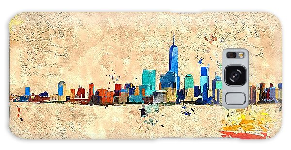 Nyc Grunge Galaxy Case by Daniel Janda