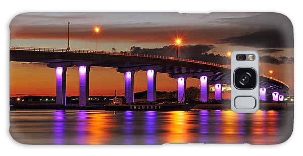 Ocean City Sunset Galaxy Case