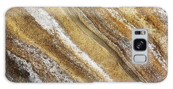 Ocean Cliff Textures 3 Galaxy Case