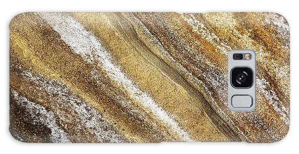 Ocean Cliff Textures 3 Galaxy Case