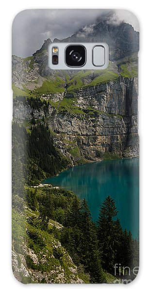 Oeschinensee - Swiss Alps - Switzerland Galaxy Case