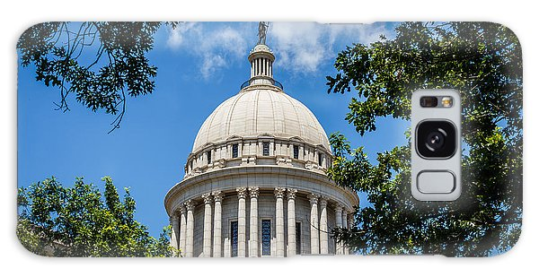 Oklahoma State Capital Dome Galaxy Case by Doug Long