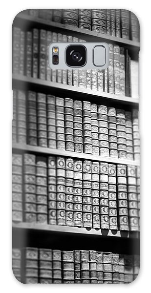 Old Books Galaxy Case by Chevy Fleet