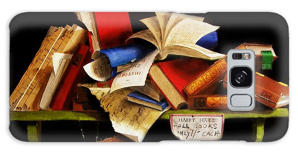 Old Books For Sale Galaxy Case by Barry Williamson