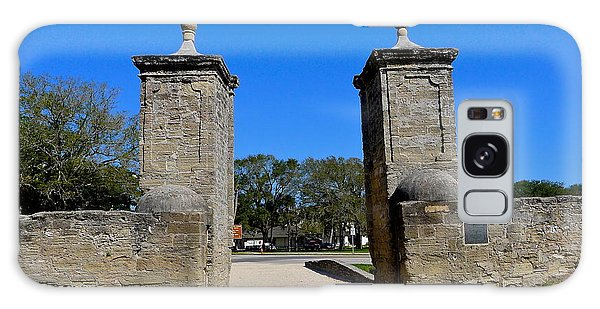 Old City Gates Of St. Augustine Galaxy Case