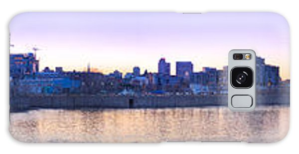 Old Montreal By Night Panorama  Galaxy Case