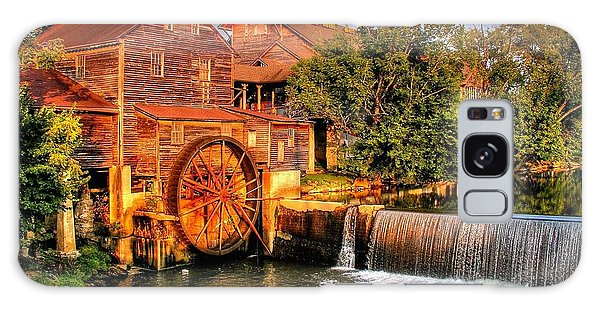 Old Water Mill Galaxy Case by Ed Roberts