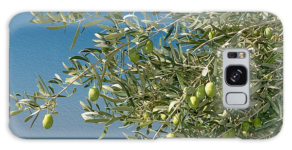 Olive Branch Galaxy Case - Olives 2 by Roy Pedersen