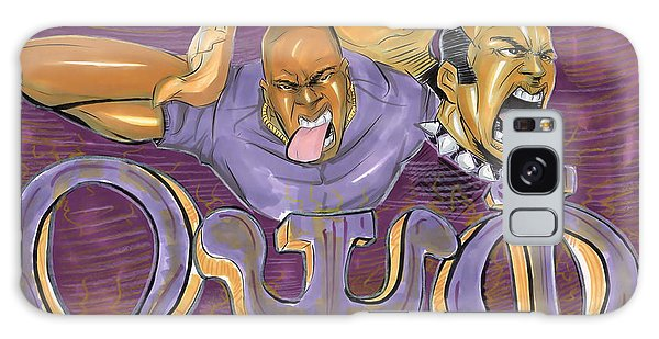 Omega Psi Phi II Galaxy Case by Tu-Kwon Thomas