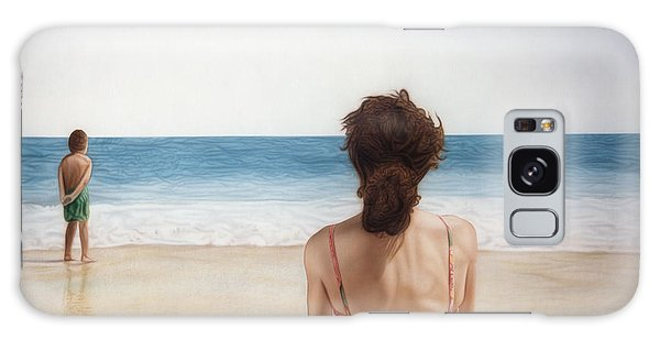 On The Beach Galaxy Case