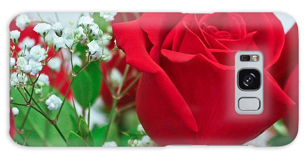 One Red Rose Galaxy Case
