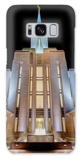 Temple Galaxy Case - Oquirrh Mountain Temple 1 by Chad Dutson