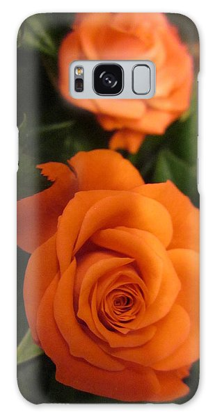 Orange Delight Galaxy Case