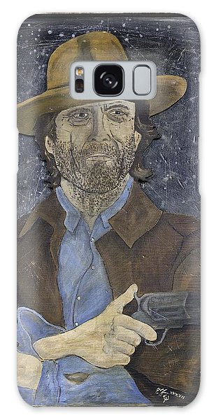 Outlaw Josey Wales Galaxy Case by Eric Cunningham
