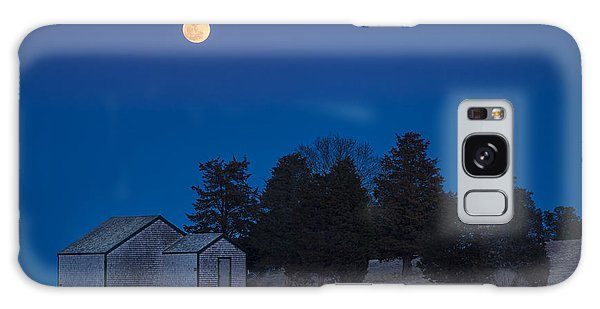 Over The Boathouse Galaxy Case
