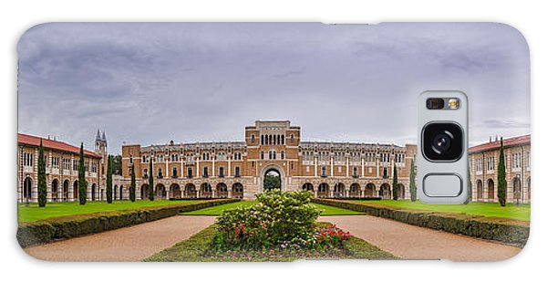 Panorama Of Rice University Academic Quad - Houston Texas Galaxy Case