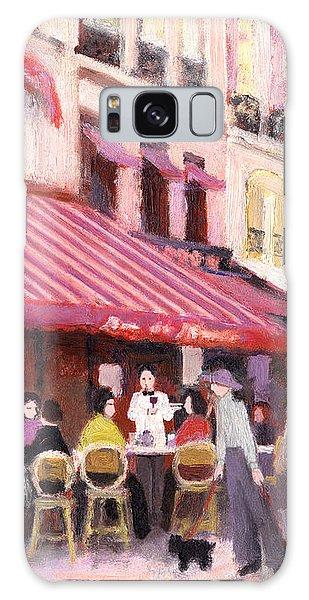 Paris Cafe Bar Galaxy Case