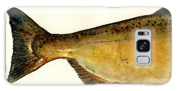 Salmon Galaxy S8 Case - 2 Part Chinook King Salmon by Juan  Bosco