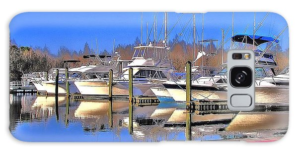 Peaceful Marina Galaxy Case by Ed Roberts