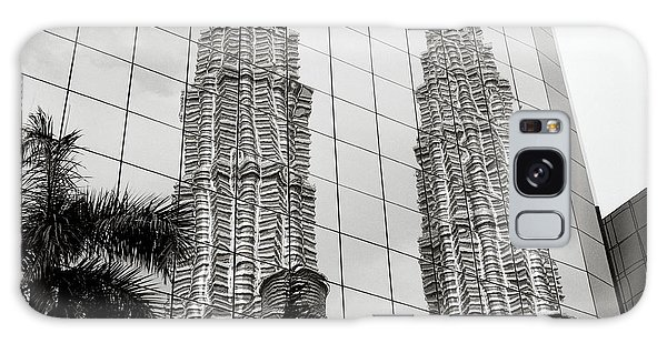 Petronas Towers Reflection Galaxy Case