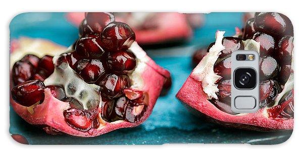 Fruits Galaxy Case - Pomegranate by Nailia Schwarz