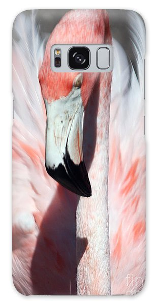 Pretty Flamingo Galaxy Case