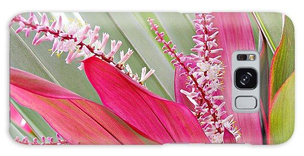 Pretty Pink In Key West Galaxy Case