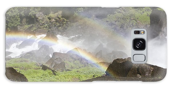 Galaxy Case featuring the photograph Rainbow Twins by Priya Ghose