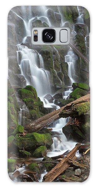 Basalt Galaxy Case - Ramona Falls In Clackamas County, Oregon by William Sutton