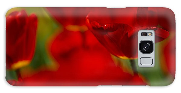Tulip Galaxy S8 Case - Red And Yellow Tulips by Nailia Schwarz