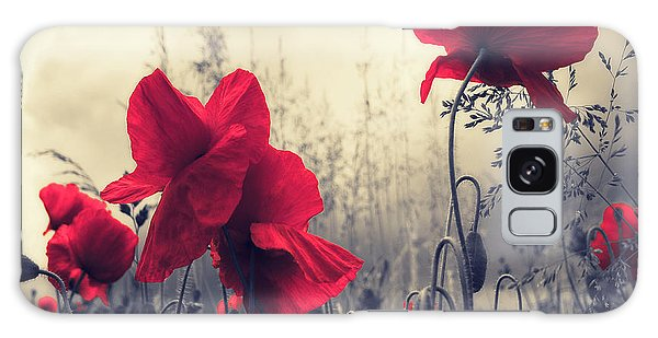 Red For Love Galaxy Case by Philippe Sainte-Laudy