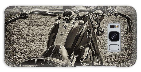 Red Harley Davidson Galaxy Case by Wilma  Birdwell