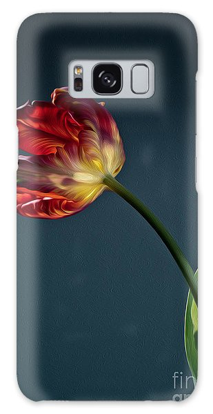 Tulip Galaxy S8 Case - Red Tulip by Nailia Schwarz