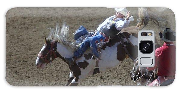 Ride Em Cowboy Galaxy Case by Jeff Swan