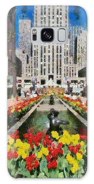 Rockefeller Plaza Galaxy Case