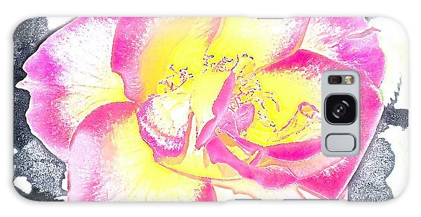 Rose 3 Galaxy Case by Pamela Cooper