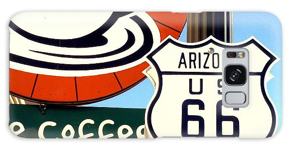 Route 66 Coffee Galaxy Case by Valerie Reeves