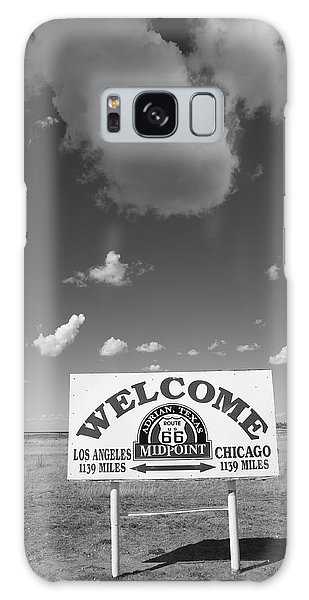 Route 66 - Midpoint Sign Galaxy Case