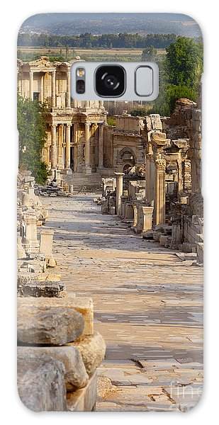 Ruins Of Ephesus Galaxy Case