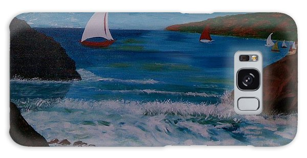 Sails Galaxy Case by Judi Goodwin