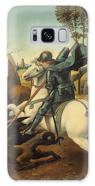 Saint George And The Dragon Galaxy Case by Raphael