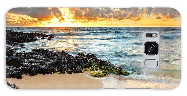 Sandy Beach Sunrise 7 Galaxy Case