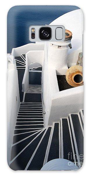 Santorini Steps Galaxy Case